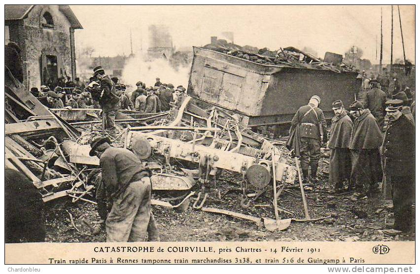 catastrophe de Courville